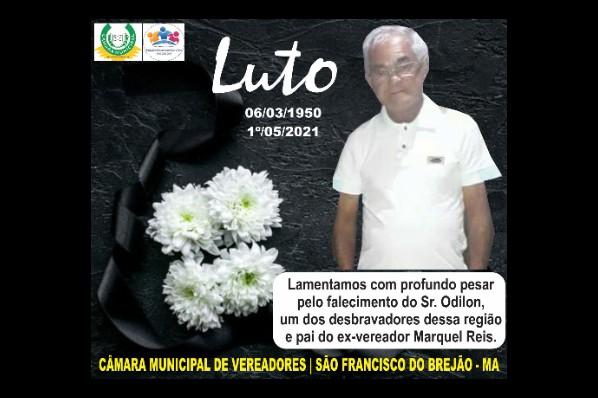 Luto Sr. Odilon - 02052021